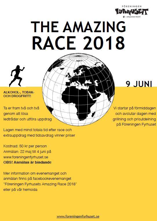 Amazing Race 2018