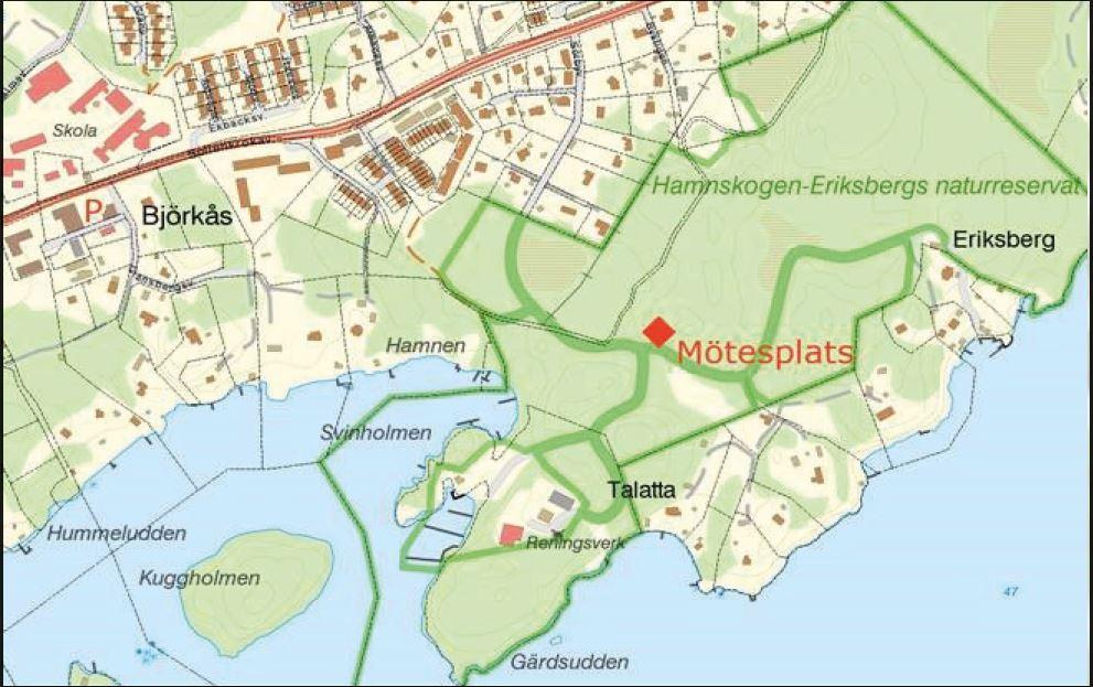 Invigning av naturreservatet Hamnskogen Eriksberg