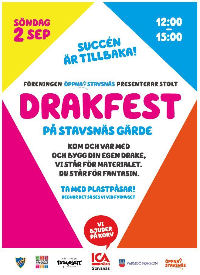 Drakfest på Stavsnäs Gärde !