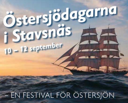 Östersjödagarna i Stavsnäs – en helg med Östersjön i fokus!